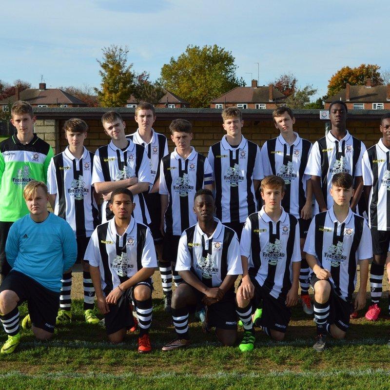Scholarship lose to Ware FC CASE Men's 2 2 - 7