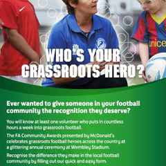 FA Community Awards - Nominations Open - Who is Your CPLFC Hero ?