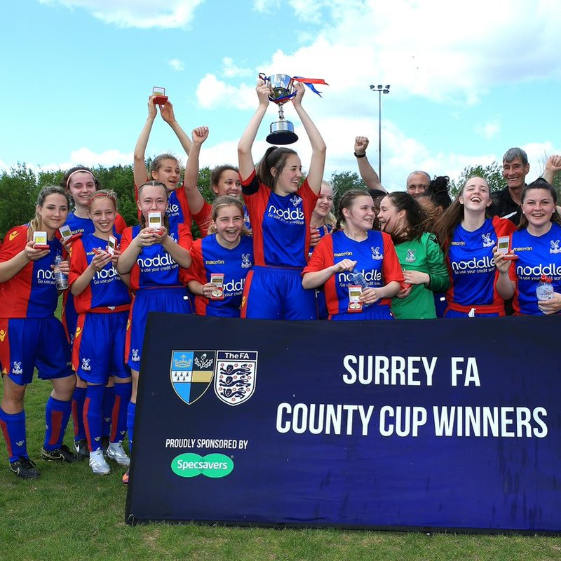 #tbt - When the U16 Academy Won the Surrey FA Cup