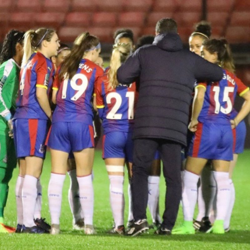 Ladies Report and Gallery: Brighton and Hove Albion V Crystal Palace