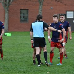 Kinloss Eagles v Aberdeen University Medics 22 Nov 14