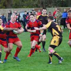 Kinloss Eagles v Royal Artillary 27 Oct 14