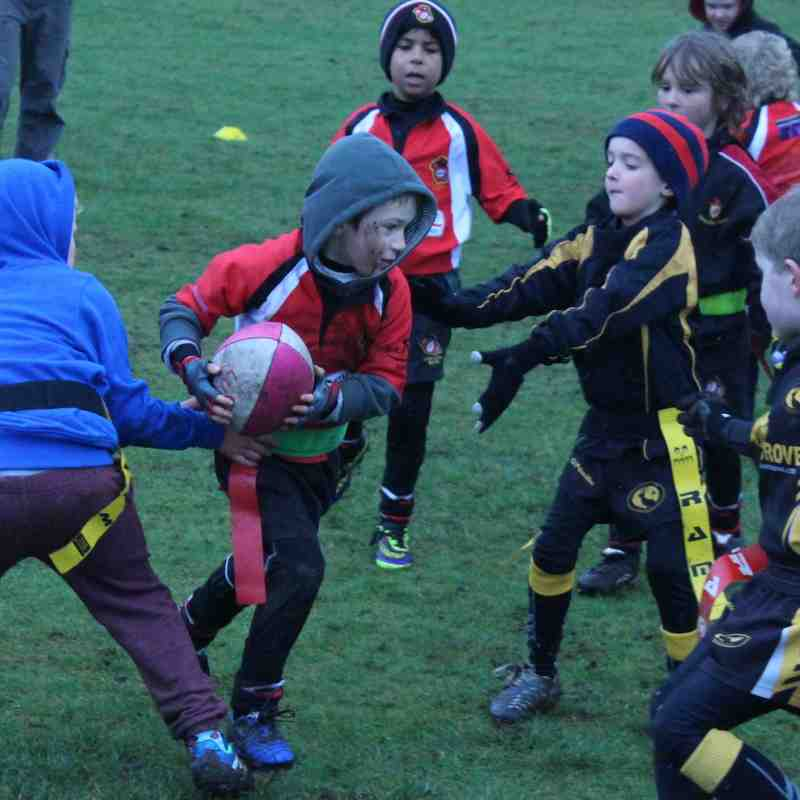 U7's Congleton Vs Northwich 22nd Feb 2015