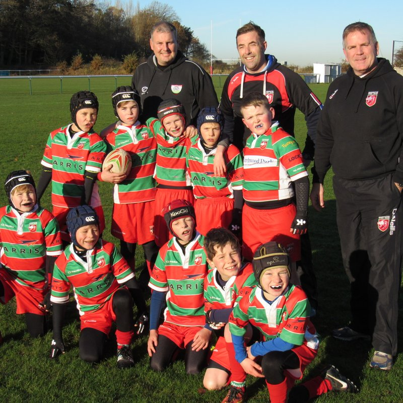 Under 10's lose to Wirral  4 - 9