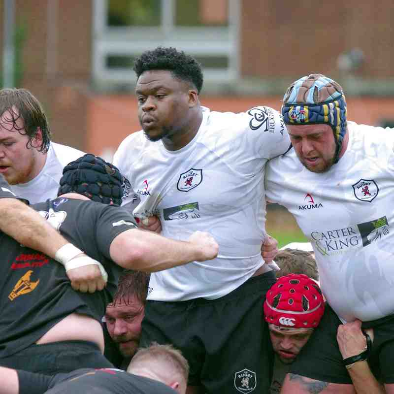 Rugby Lions v Spartans 29 10 2016