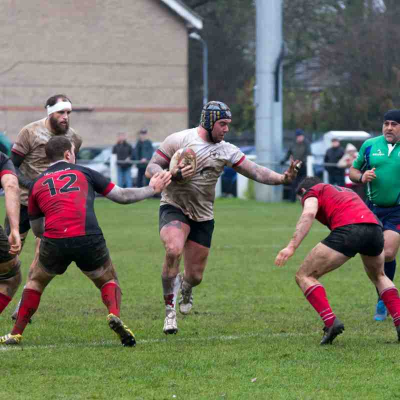 Rugby Lions v Berkswell & Balsall 10 12 2016