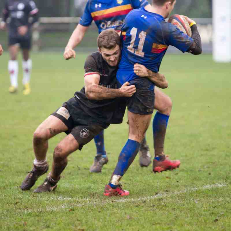 Rugby Lions v Leamington 07 01 2017