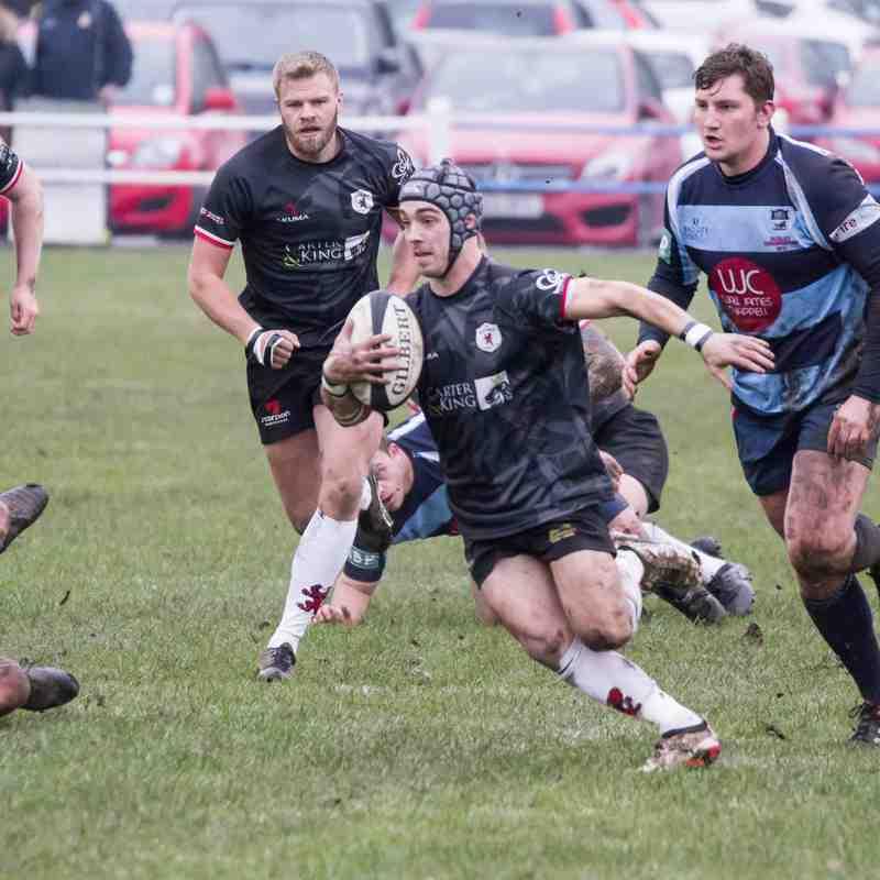 Dudley KS v Rugby Lions 02 12 2017