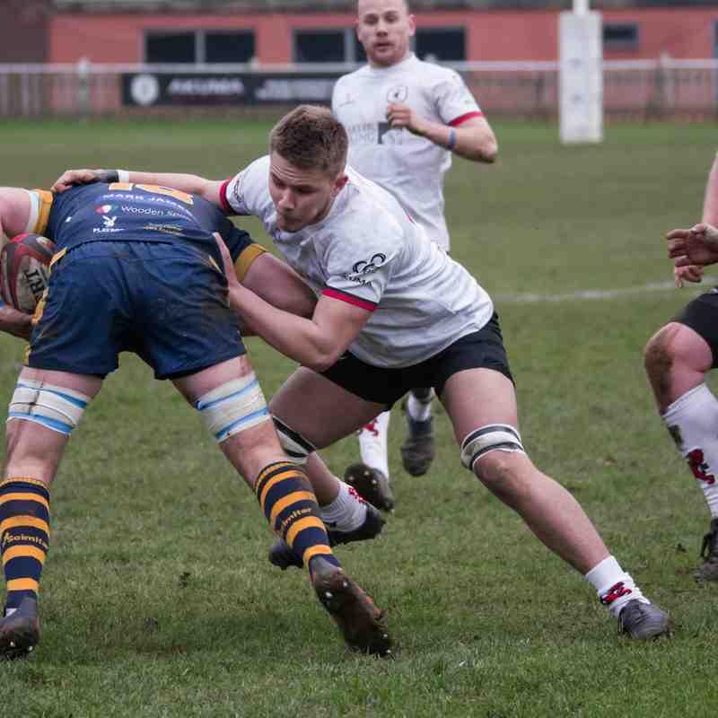 Rugby Lions v Worcester 13 01 2018