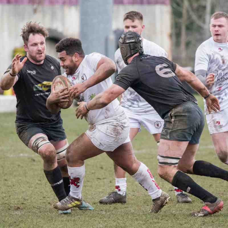 Rugby Lions v Wolverhampton 17 02 2018