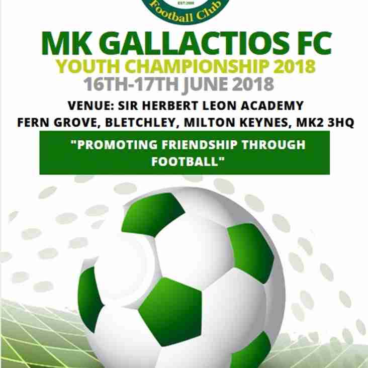 MK Gallacticos Youth Championships 2018