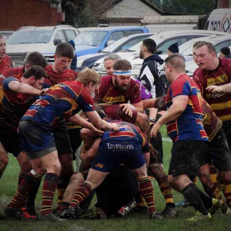 2nd XV v St Brendan's Old Boys (H) 16.01.16