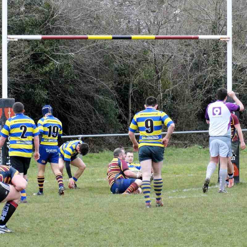 3rd XV v Cainscross 2nd XV (H) 19.03.16