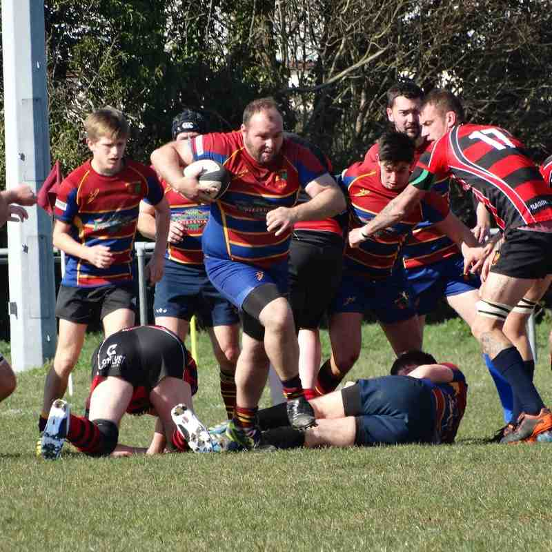 2nd XV v Cirencester 2nd XV (H) 02.04.16
