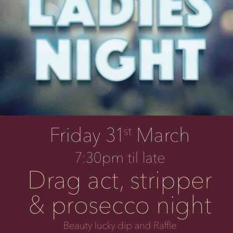 Ladies Night 31st March 2017