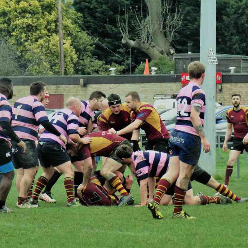 2nd XV v Dursley (H) 11.03.2017