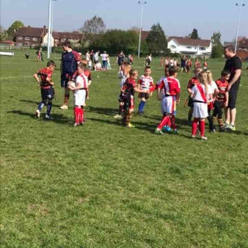 U8s v Gordon League (H) 09.04.17