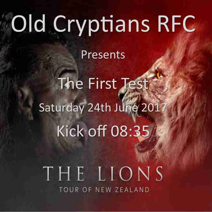 All Blacks v The Lions