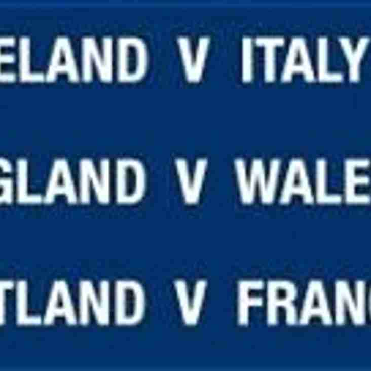 All Six Nations matches being shown this weekend