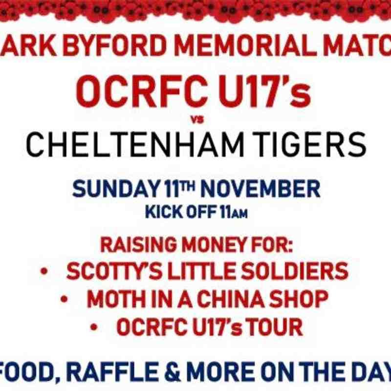 Mark Byford Memorial Game