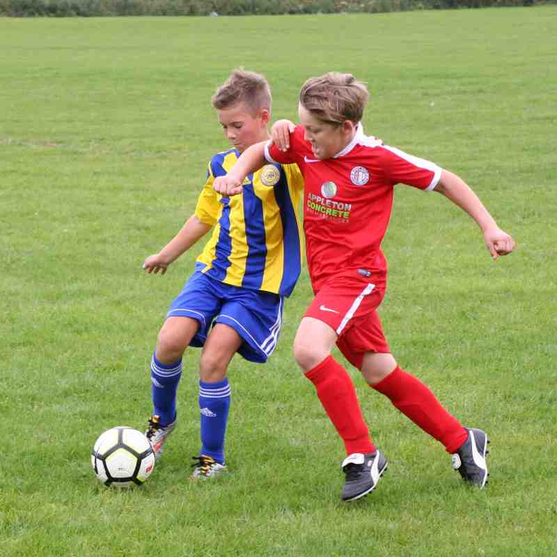 U11's v Worksop Boys Club
