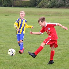 U11's v Worksop Boys Club