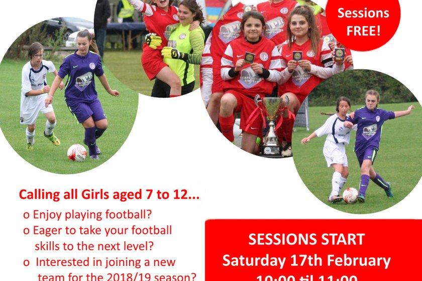 Girls Football Taster Sessions!