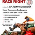 AFC Pogmoor Girls Race Night