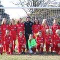 Under 14 Girls beat Brunsmeer Athletic 7 - 1