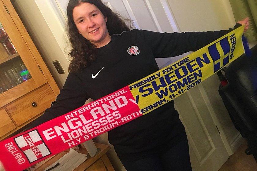 England Ladies v Sweden @ New York Stadium