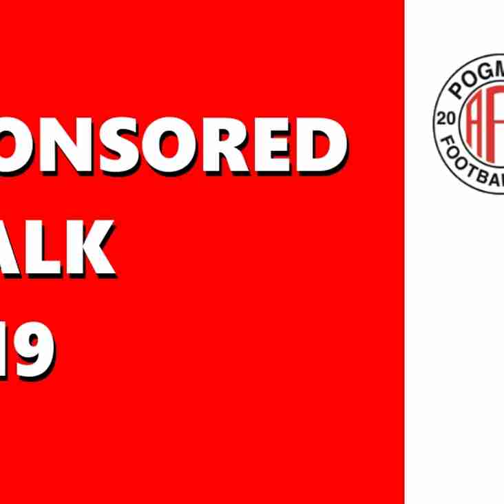Club Sponsored Walk 2019