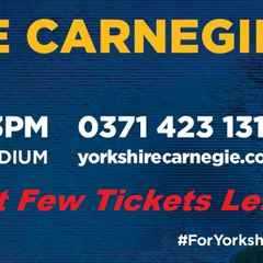 Club Trip to Yorkshire Carnegie - Last Few Tickets Left