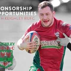 Keighley RUFC - Sponsorship 2016/17