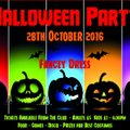 JUNIOR RUGBY HALLOWEEN PARTY NIGHT - 28TH October 2016