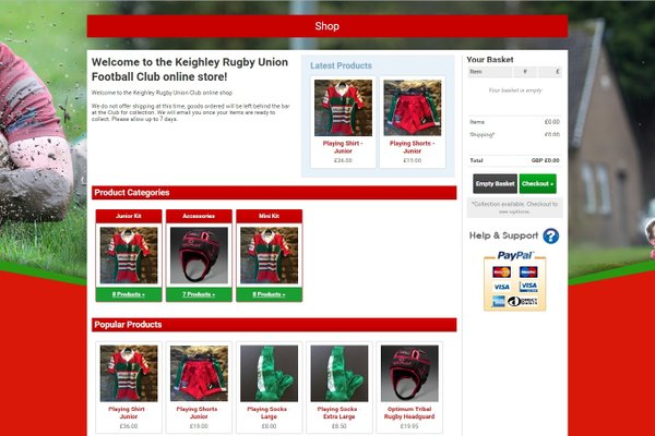 New Online - Juniors Club Shop