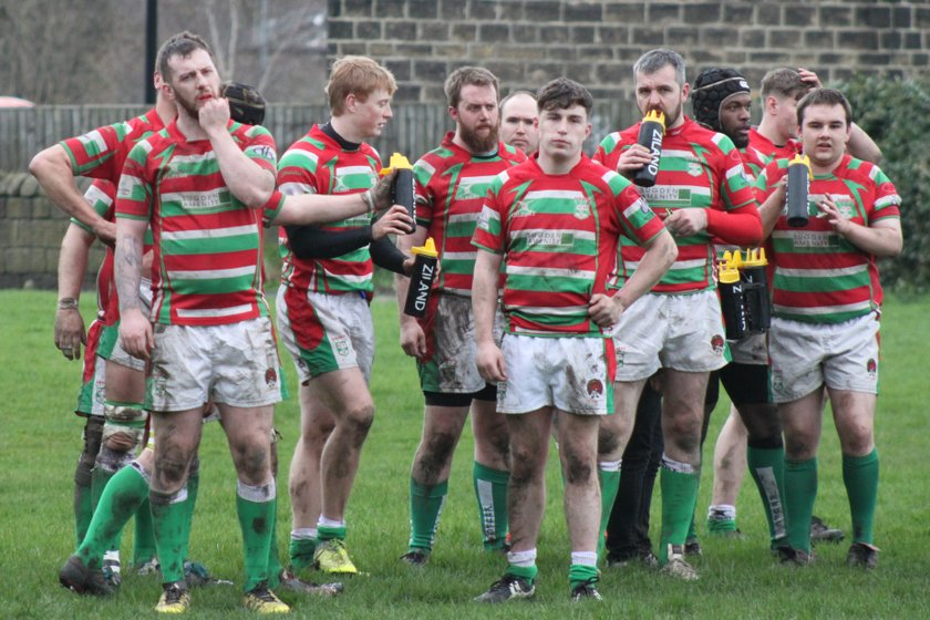 Aireborough 2nds 12 - 17 Keighley Academy