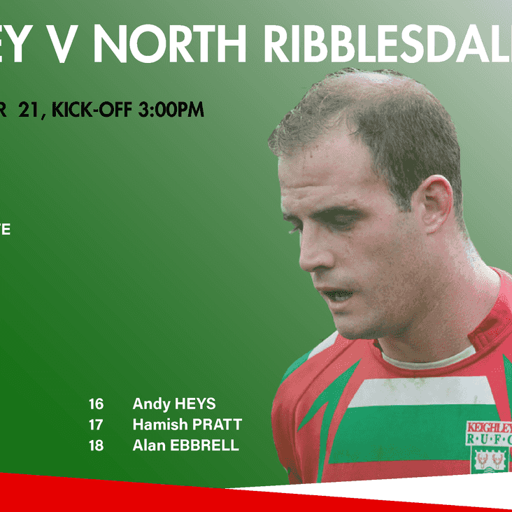 1st XV Team to face North Ribb