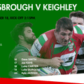 1st XV Team to face Middlesbrough