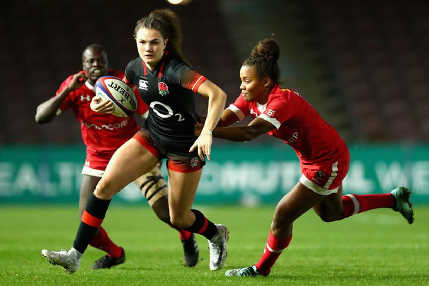 Keighley's Ellie Kildunne plays part in England Red Roses wins over Canada