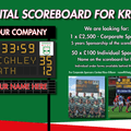 Digital Scoreboard for Keighley RUFC