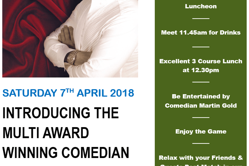 Comedian's Lunch 7th April - Prior to the Hullensians game.