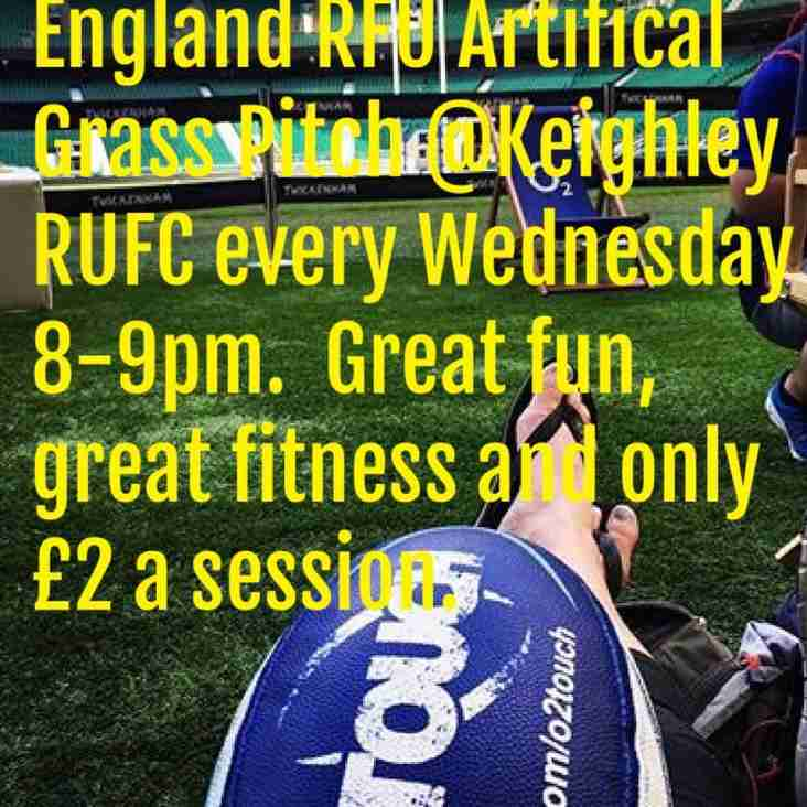 O2 Touch at Keighley RUFC