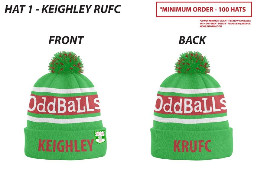 Keighley RUFC OddBalls Bobble Hats