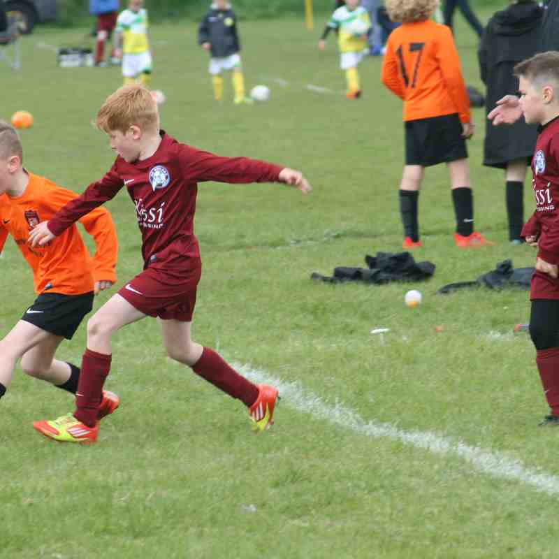 Comets 2016/17 U8 season Invitational Cup Final