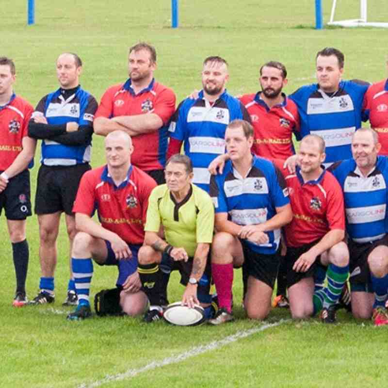 LERFC XV v Army Vets XV Charity Match 18/09/15 Photos: Chris Davis