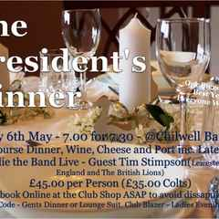 The Annual Presidents Dinner
