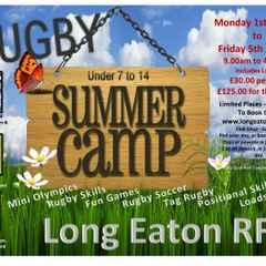 U7's-14's Summer Camp