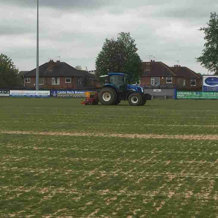 Pre-season work well underway at Grange Park
