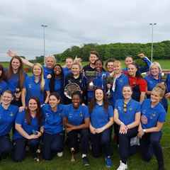 Ladies Secure League and Cup Double