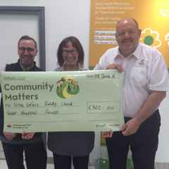Waitrose Wollaton Donation